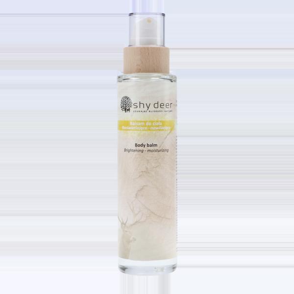 Balsam do ciała rozświetlająco-nawilżający - 200 ml Shy Deer - kosmetyki naturalne